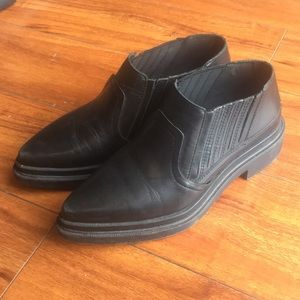 Zara slip on boots/loafers